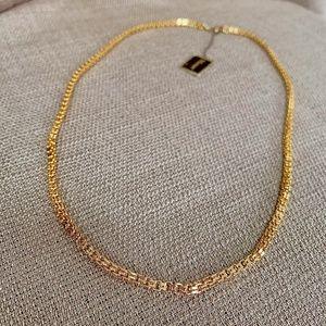 Vintage Monet Box Link Princess Necklace